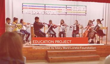 SL project on History, Ethics, Citizenship, Heritage, Language, by Mary Ward Loreto Foundation, Albania.