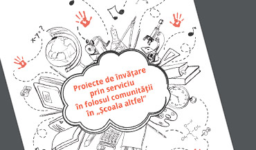 """Service-Learning projects for the benefit of the community in the """"Școala altfel""""."""